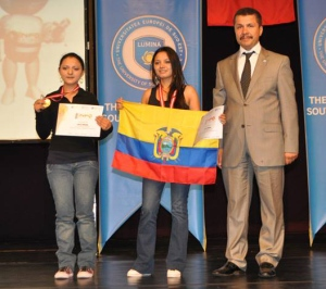 Veronica & Tatiana - World Champions in the Hardware Control Category of Infomatrix 2013