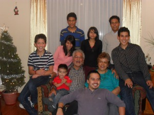 The Reinosos´grandchildren and great grandchildren
