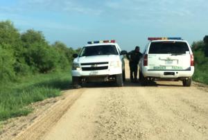 US Border Patrol in Anzalduas Park - Mission, TX