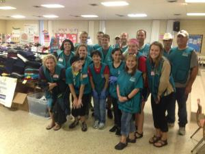Mission Discovery volunteers at Sacred Heart Church