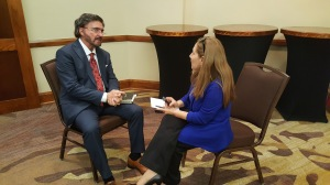 Dr. Armando Alducin & Cecilia Yepez, at the moment of the interview
